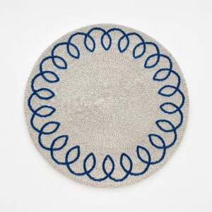 Joanna Buchanan Chinoiserie Placemat Blue