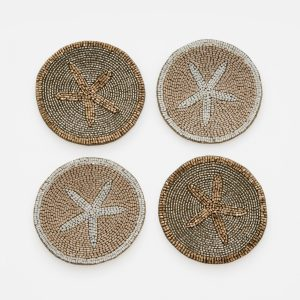 Starfish coasters