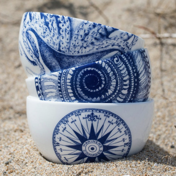 Blue Lucy Snack bowl 2