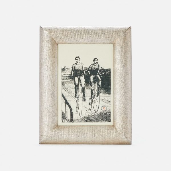 Cardiff Warm Silver Picture Frame
