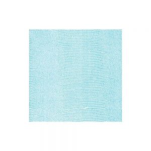 Lizard Paper Linen Cocktail Napkins in Turquoise