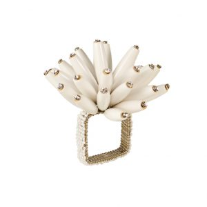 Wood Conestellation Napkin Ring