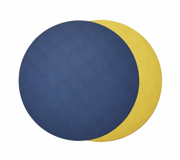 Viper Reversible Placemat in Blue & Yellow