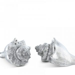 Pewter Conch Shells salt & Pepper set
