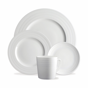 Cambridge Stripe 4 - Piece Place Setting