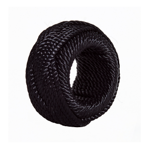 Black Rope Napkin Ring (1)