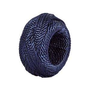 Navy Rope Napkin Ring