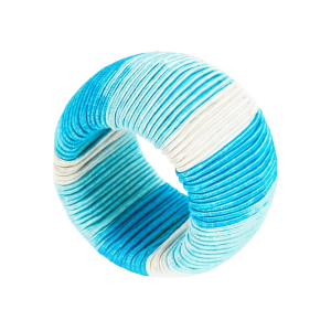 Turquoise Ombre Napkin Ring