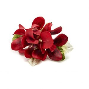Crimson Orchid Napkin Ring