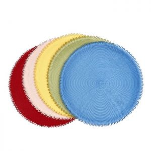 Looped Edge Placemat Daffodil Lifestyle