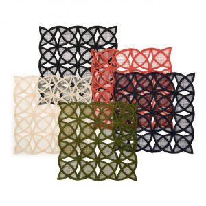 Sinamay Tile Placemat Lifestyle