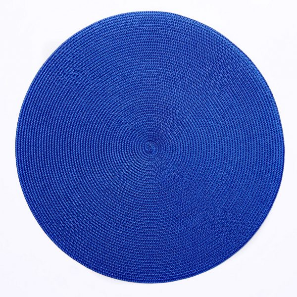 Triple Braid Placemat Clementis Blue
