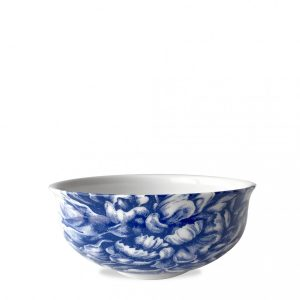 Blue Peony Cereal Bowl