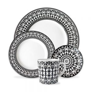 Casablanca 4 piece place setting