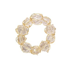 Crystal Bauble Gold