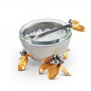 Golden Winter Berry Salt Cellar