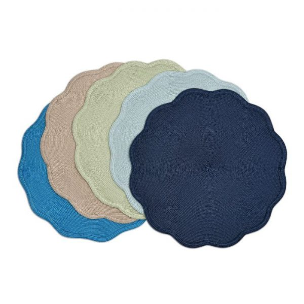 Round Scallop Placemat Lifestyle