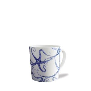 Starfish Blue Mug