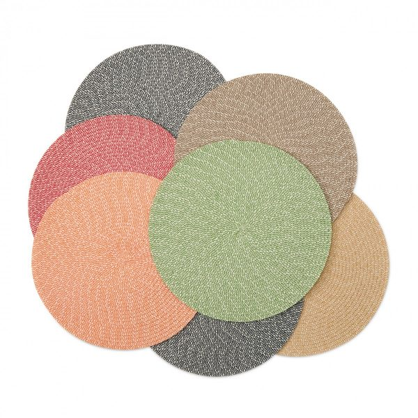 Tweed 15 Round Placemat