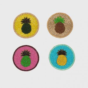 Bright Pineapple Coasters