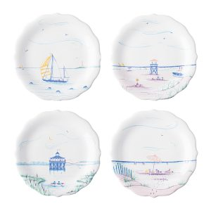 Country Estate Seaside Party Plates