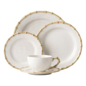 Classic Bambook Natural 5pc Place Setting