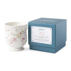 Floral Sketch Cherry Blossom Candle